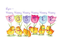 Easter Greeting Card Template Impressive Printable Card 'Happy Happy Easter' Food Drink That I Love