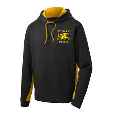 Soccer Sport Tek Fleece Hooded Pullover St235