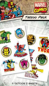 Tetování Marvel Characters Kupujte Na Posterscz