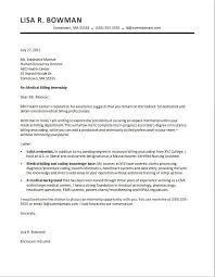 Example Of Cover Letter For Job Template