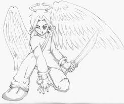 Small Picture warrior baby angels coloring pages Anime Angel Warrior
