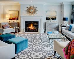 Captivating Trendy Family Room Photo In Toronto With Gray Walls And A Standard Fireplace Amazing Ideas