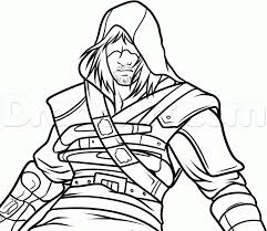 Assassins Creed Drawing At Getdrawingscom Free For Personal Use