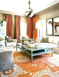 furniture for decoration using brown leather canada and orange rugs for living room good rug and appealing ds with accents turquoise