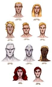 red rising character doodles by scillavega