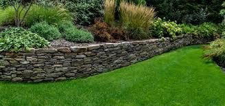 pennsylvania fieldstone retaining wall