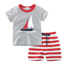 Little Hand <b>Kids Pajama</b> 100% Cotton Short <b>Pajamas</b> for <b>Boys</b>