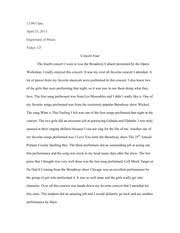 music essay my life in music enjoyment to music is a very 2 pages concert four essay