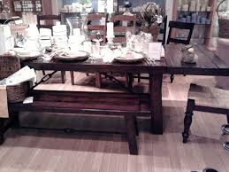 Dining Room Table Pottery Barn Home Design Ideas With Reclaimed Wood Dining Room Table Pottery