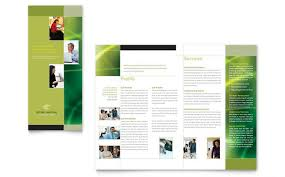 Microsoft Office Tri Fold Brochure Template 3 Fold Flyer Template Word Sportsbuffpub Com