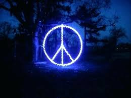 outdoor lighted peace sign 9ccf light up peace sign e lite badge peace sign lights pirate
