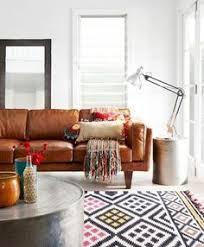 scandinavian leather furniture. Scandinavian Brown Leather Sofa Mjob Blog Furniture
