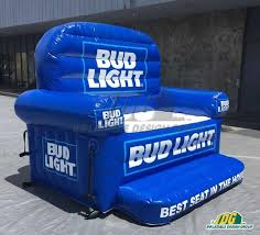 bud light inflatable couch