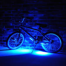 Bmx Bike Lights Bike Led Blue Light Novelty Conceptnovelty Concept Led