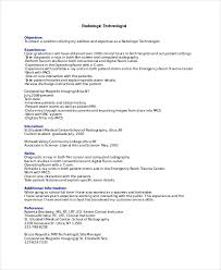 40 Radiologist Resume Templates PDF DOC Free Premium Templates Fascinating Resume For Radiologic Technologist
