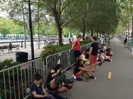 waiting in line concert. Exellent Line Mumford Line In Hoboken In Waiting Concert C