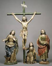 polychrome sculpture in spanish america essay heilbrunn  christ crucified from a calvary group