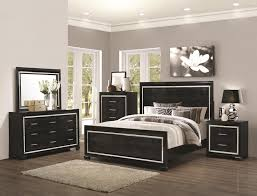 Mirrored Furniture Bedroom Set Black And Grey Bedroom Furniture