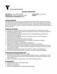 Healthcare Administration Resume Job Responsibilities Office Manager Yun24 Co Medical Administrative 17