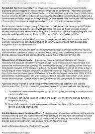 Capital Vehicle Preventive Maintenance Program Handbook