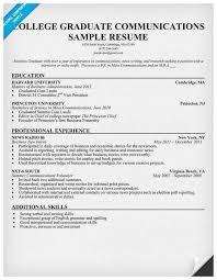 Recent College Graduate Resume Examples Inspirational Resume