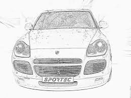 Imprimer V Hicules Voiture Porsche Num Ro 106223