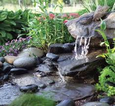 Small Picture Backyard Waterfalls Ideas Backyard Design And Backyard Ideas