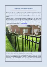 chain link fence post sizes. Chain Link Fence Post Sizes I