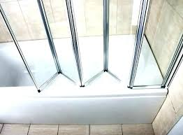 bifold glass shower door awesome glass shower doors accordion shower door accordion shower doors bathrooms trackless