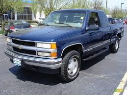 1999 Indigo Blue Metallic Chevrolet Silverado 1500 LS Extended Cab ...