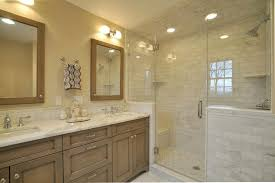 2. Smaller Space. This master bathroom ...