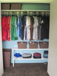 awesome kids closet organizer ideas with hanger and storage baskets
