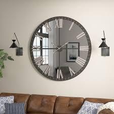 big wall clocks large round wall clock