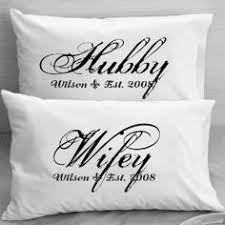 romantic valentine s day gift ideas for your wife kathln personalized pillowcases wifey hubby