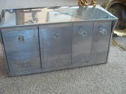 vintage speco krestline all in one chrome metal kitchen canister