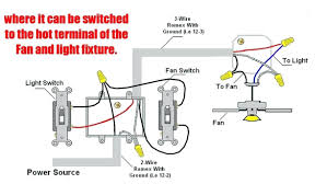 Light Switch With 3 Terminals Light Switch Wiring Diagram For Ceiling Fan Wiring Diagram