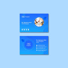Social Media Web Template For Business Cards Psd File Free