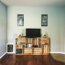 tv furniture ideas. easy 50 tv stand crates diy furniture ideas