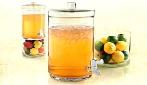 sweet tea dispenser glass iced tea dispenser