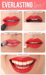 read how to apply lipstick perfectly