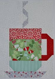 384 best images about Mug rugs on Pinterest | Appliques, Quilt and ... & In From The Cold Hot Cocoa quilt block by Grey Dogwood Studio. Pattern and  fabric by Kate Spain. Adamdwight.com