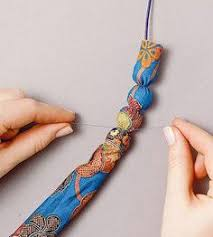 699 Best <b>Diy fabric</b> jewellery images in <b>2019</b> | <b>Fabric</b> jewelry, <b>Diy</b> ...