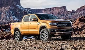 Ford Ranger 2019 - New pickup truck car revealed at Detroit Auto ...