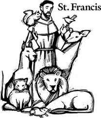 St Francis Of Assisi Coloring Pages For Catholic Kids Lauren St