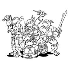 Small Picture Best Teenage Mutant Ninja Turtle Coloring Book Gallery Coloring
