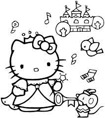 19 Dessins De Coloriage Hello Kitty Imprimer A4 Imprimer