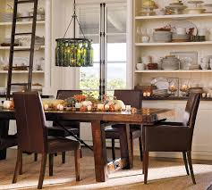 Image of: remodeling pottery barn dining table