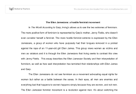 the ellen jamesians a hostile feminist movement international  document image preview