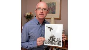 Banner day for Wexford historian Stephen Foley with new marine identified  in Iwo Jima photo | Ireland | The Sunday Times