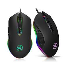 <b>Hxsj Gaming Mouse USB</b> Wired Mouse 6 Buttons 200-4800DPI ...